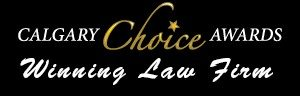 award winning law firm; calgary choice award winner; kahane law office; award winning lawyers; calgary best lawyers; calgary best law firm