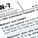 itin, individual tax identification number; acceptance agent; Calgary acceptance agent; w7