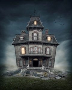wacky Wednesday; weird laws; crazy court cases; funny legal stories; weird lawsuits, crazy litigation; latent defect lawsuit; suing for haunted house; haunted house law