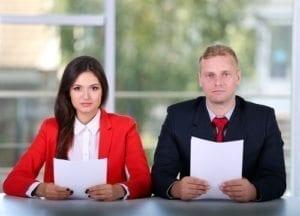 Co-worker gets restraining order for harassing emails.