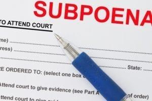 celebrity; subpoena, insanity, murder, star struck