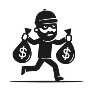 robber; bank; bandit; sues; wacky lawsuit