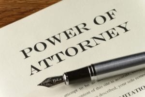 Power of Attorney, Pen, Paper, Sign
