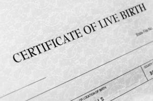 birth certificate, certified true copy, immigration, divorce, family law, sponsorship, visa, refugee, Canada, seal, notary, commissioner