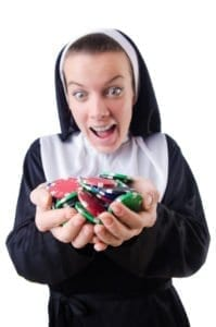 Las Vegas, nun, half a million, stole, thief, catholic school, investigation, church, crime, charges, money, gambling