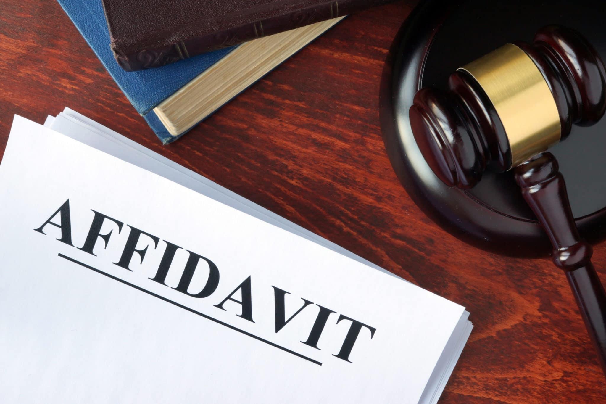 Affidavits: Commissioning Or Notarizing Them In Calgary, Alberta