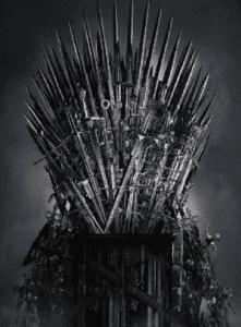 game of thrones, HBO, intellectual property, IP law, copyright, infringement, trademark, throne, drama, child, art, work, competition, sue, litigation, plaintiff, defendant, sword, weapon, winter is coming, American, fantasy, drama,