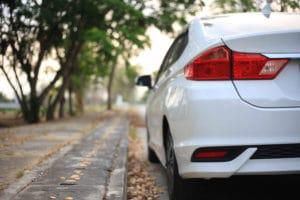 car, bumper, car on street